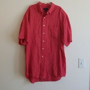 Men's Brooks Brothers  346 Linen Shirt